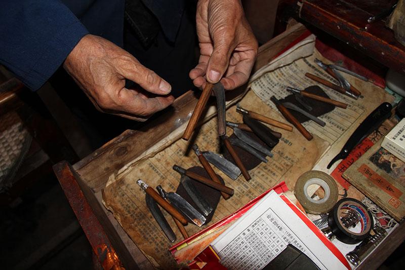 剃头匠的工具