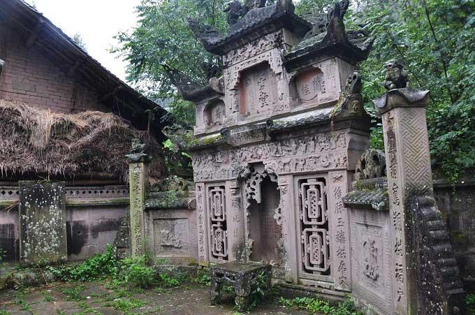 住宅附近有墓地