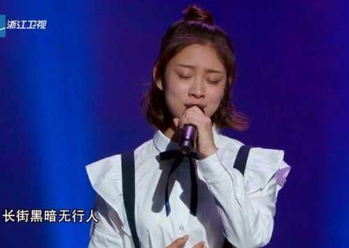 中国新歌声学员叶炫清演唱《从前慢》