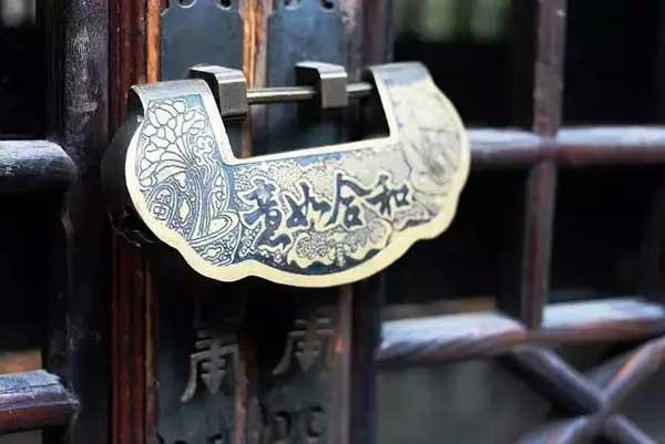 从前的锁很好看,钥匙精美有样子