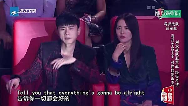 张杰和谭维维倾情助阵新歌声