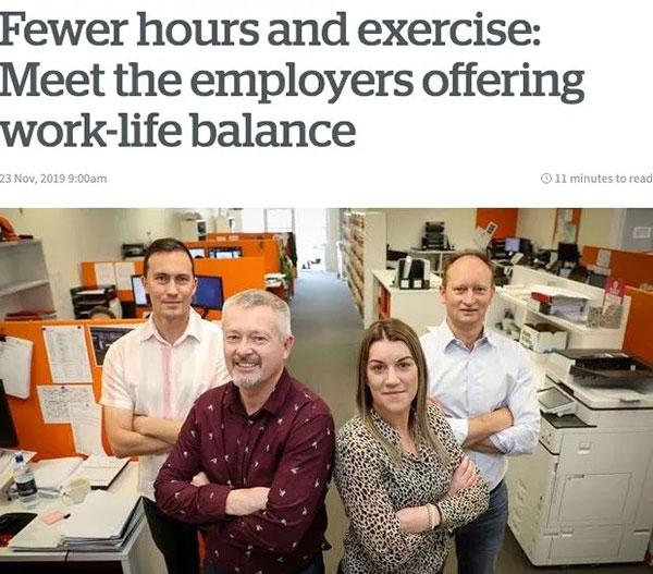 以求让员工的工作和生活达到很好平衡,如此才能最终提高员工工作效率