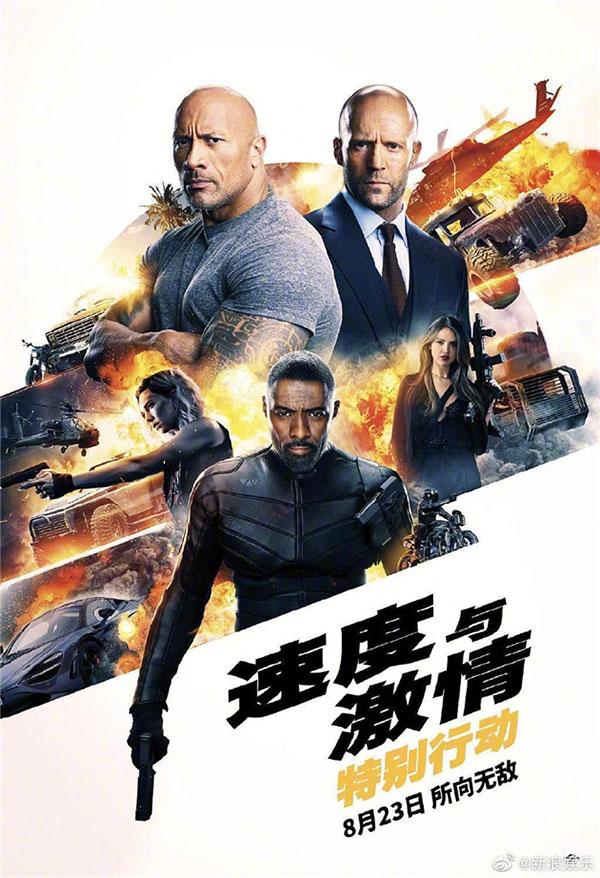 《速度与激情:特别行动》14.30亿