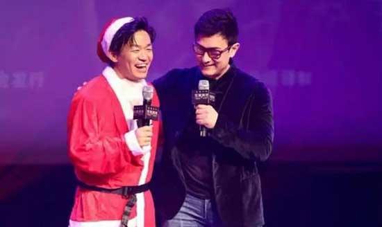 去年的圣诞节,王宝强还得到了国际巨星阿米尔汗的祝福