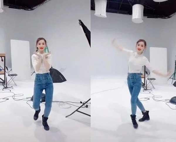 昨日,马蓉在自己的社交平台上传了一段自己跳舞的视频
