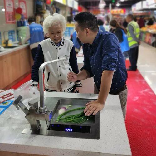 """为了让消费者吃上放心菜,她在2018年成立了上海千北信息科技有限公司,创设""""迭家""""品牌"""