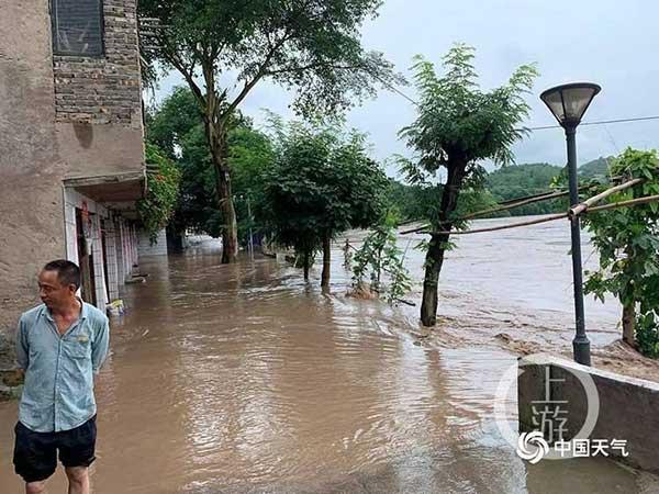 綦江受灾6.7万人 城区预计明天恢基本生活秩序