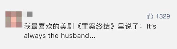 """""""It's always the husband…""""不止是一句美剧台词"""
