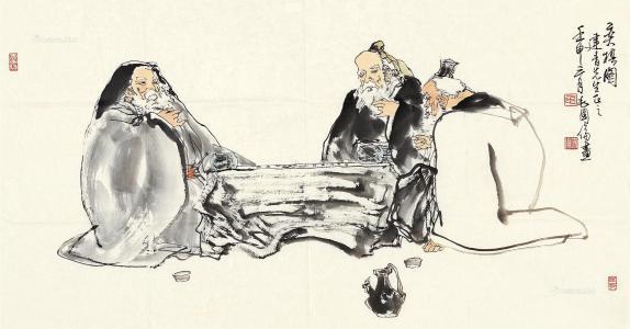 """此后,""""烂柯""""便成了围棋的别称之一,而石室山也被称为""""烂柯山""""。"""