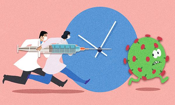 中国让疫苗走向世界,美国却自私地做了起来