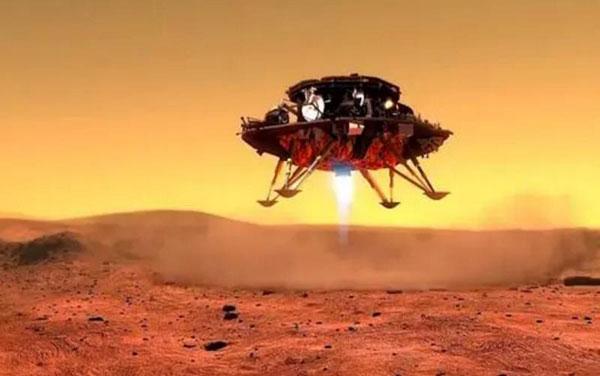 """""""天问一号""""如何降落火星表面?"""