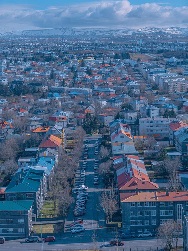 冰岛60%的人口都居住在雷克雅未克区域