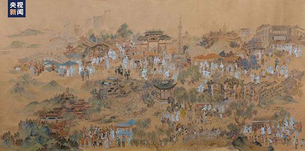 画卷里的西樵山