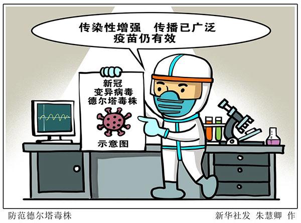 什么是新冠变异病毒德尔塔毒株?