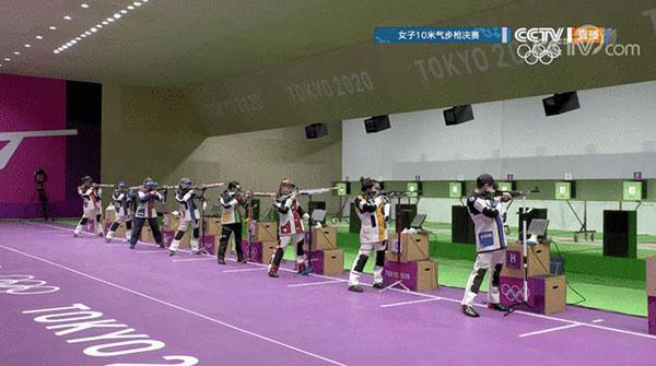 中国首金!女子10米气步枪00后小将杨倩夺冠(组图)