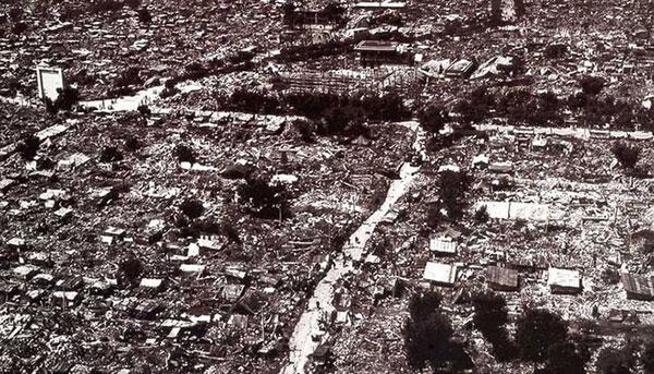 地震后的唐山