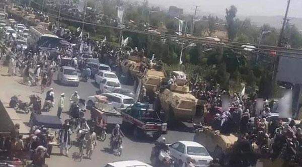 阿富汗阅兵式截图