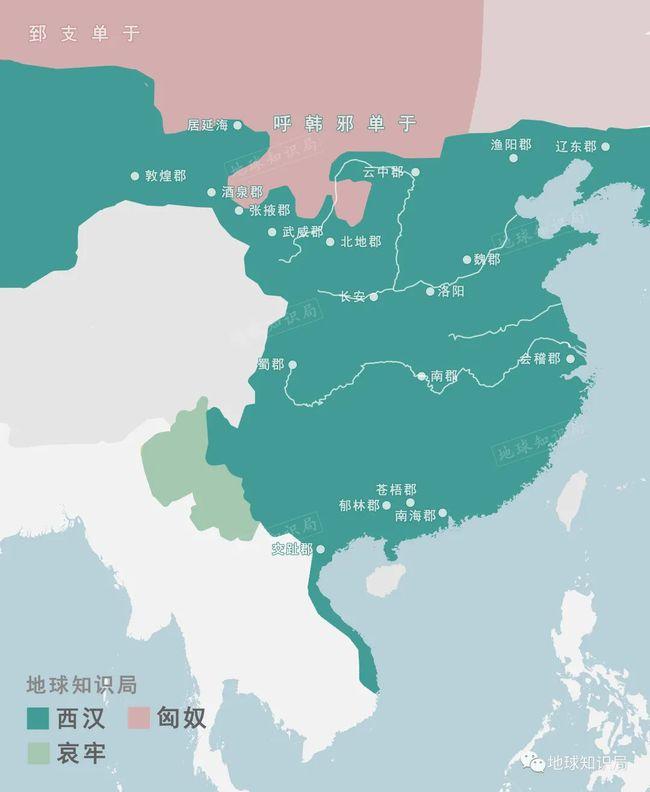 张掖和武威(甘州和凉州)是其中的关键连接点▼