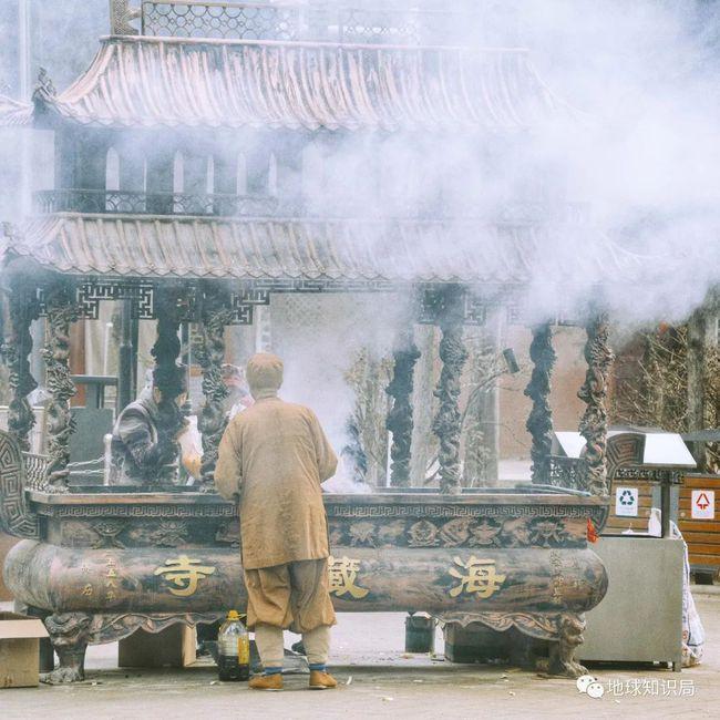 武威海藏寺,即前凉姑臧城灵钧台,图:图虫创意