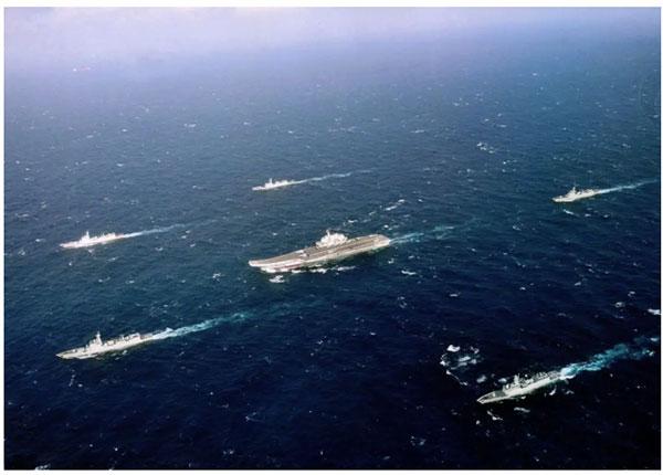 中国海军舰队从未进入过美国领海!