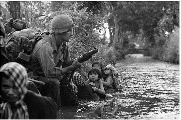 从此不敢妄动中国的邻国,越南战争自始至终未敢越过北纬17度线